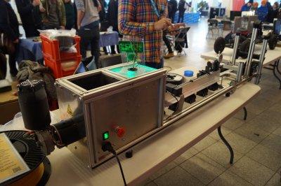 Eggstruder auf Maker Faire im Norden 2017.