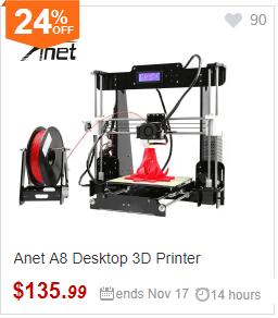 Anet A8 3D-Drucker Banner