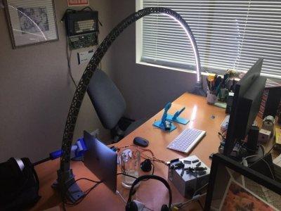Bogenlampe aus dem 3D-Drucker