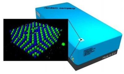 Fluoreszierende Mikrostrukturen aus dem 3D-Drucker