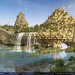 Modell einer 3D-gedruckten Tigris-Brücke.