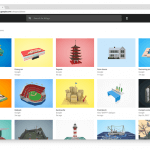Google Poly Community Objekte