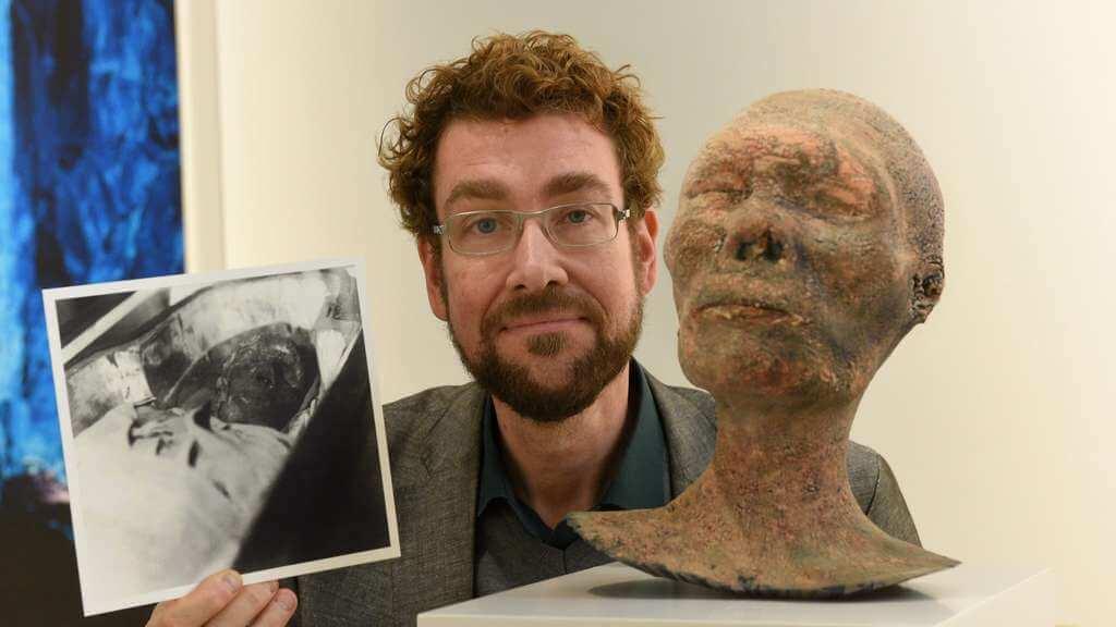 Mumie im Gustav-Lübcke-Museum Hamm mit 3D-Drucker rekonstruiert