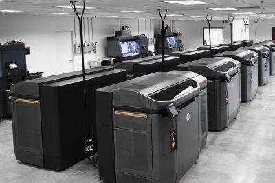 HP Jet Fusion 4210 3D-Drucker.
