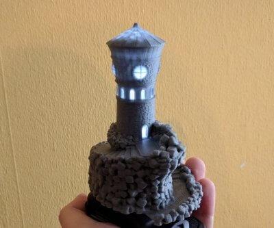Islandturm aus dem 3D-Drucker