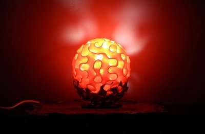 Korallen-Lampe