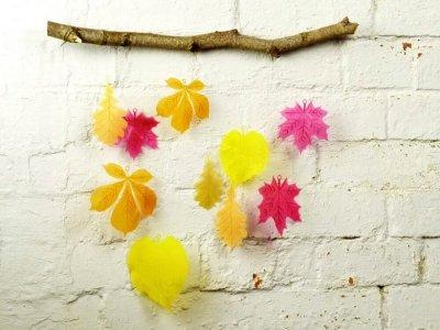 Herbst Mobile aus dem 3D-Drucker