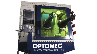 Optomec LENS Hybrid Machine Tool.