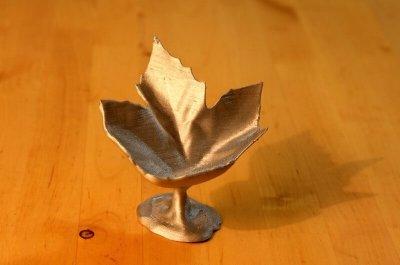 Herbst-Schale aus dem 3D-Drucker