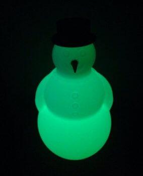 Schneemann-Lampe aus dem 3D-Drucker