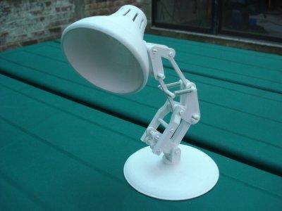 Schreibtischlampe aus dem 3D-Drucker