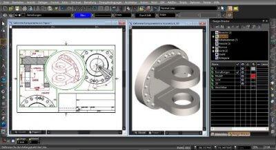 Entwicklung eines Objektes mittels TurboCAD 2017 Software.