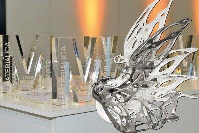 Ultraleichtes Haubenscharnier aus 3D-Drucker