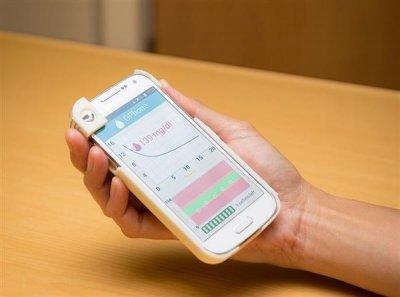 Das GPhone soll Diabetespatienten helfen.
