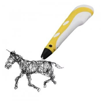 Günstiger 3D-Stift in gelb