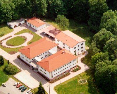 Gebäudekomplex des iba Heiligenstadt.