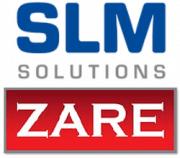 Logo Zare und SLM Solutions