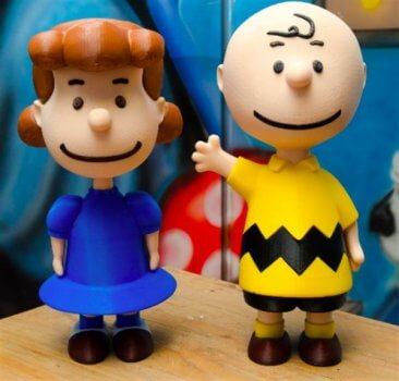 Lucy und Charlie Brown