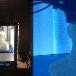 3D-Druck einer Form.