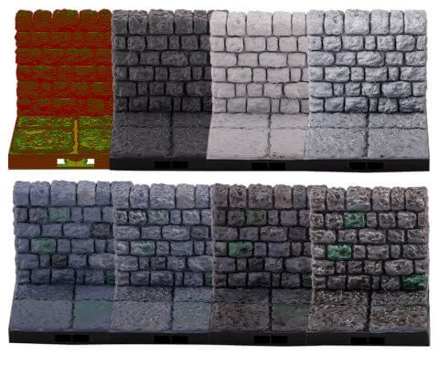 3D-Objekte bemalen Schritt für Schritt