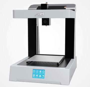 Anet E Fashion 3D-Drucker auf der CES 2018 vorgestellt.