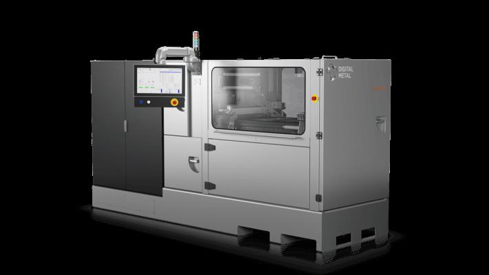 Rundum-Ansicht des DM P2500 Metall-3D-Druckers.