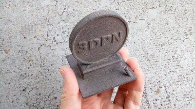 Objekt mit dem 3D-Drucker von iro3d gedruckt.