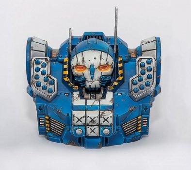Roboter-Torso aus dem 3D-Drucker