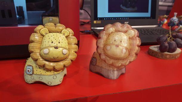 Löwe gedruckt mit Da Vinci Color AiO