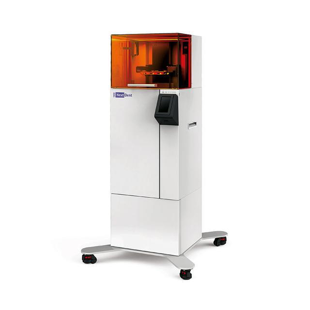 3D Systems stellt mit NextDent 5100 neuen 3D-Drucker für Zahnprothesen und zahnmedizinische Instrumente vor