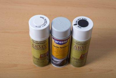 Grundierung für Acrylfarben