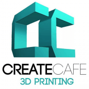 Logo Create Cafe 3D printing