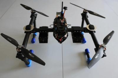 Abfangjäger-Drohne Detailansicht