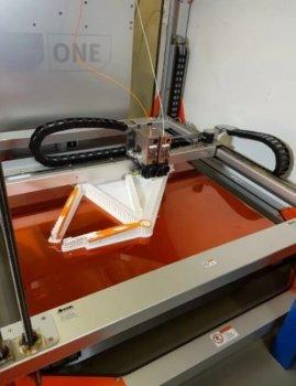 Fahrradrahmen aus 3D-Drucker
