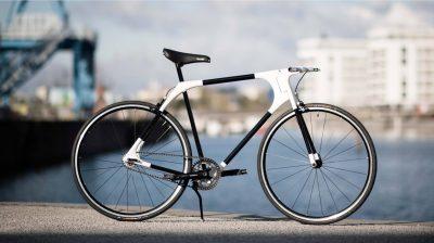Fahrradrahmen aus dem 3D-Drucker von Frame One