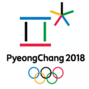 Logo Olympische Spiele 2018 in Pyeongchang