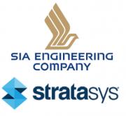 Logo SIA Engineering Company und Stratasys
