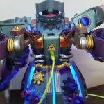 Spielzeugroboter aus dem 3D-Drucker