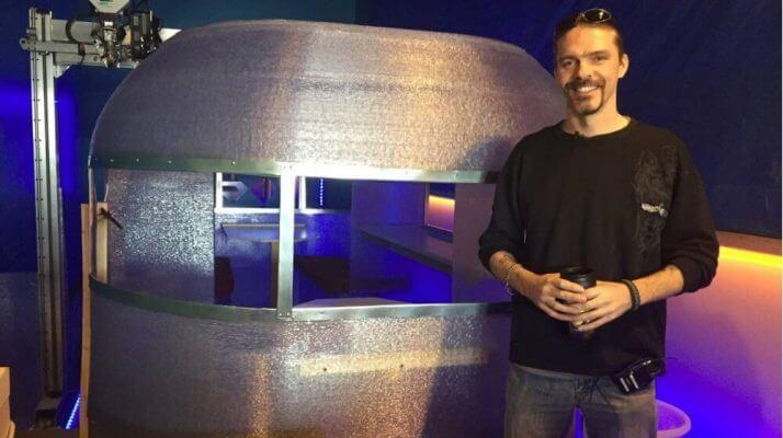 Wohnwagen aus dem 3D-Drucker