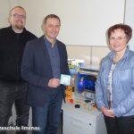 3D-Drucker von Computer Systems Ilmenau gesponstert