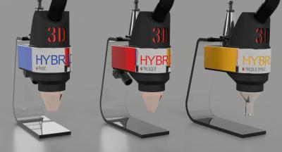 3D-Druckaufsätze für CNC Maschinen von 3D-Hybrid