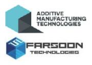 Logo Additive Manufacturing Technologies (AMT) und Farsoo Ttechnologies