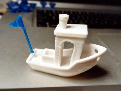 Benchy aus dem 3D-Drucker