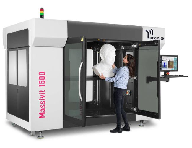 "MASSIVit 3D stellt neuen Großformat-3D-Drucker ""Massivit 1500 Exploration"" vor"