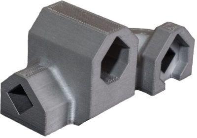 Metallteil aus dem 3D-Drucker