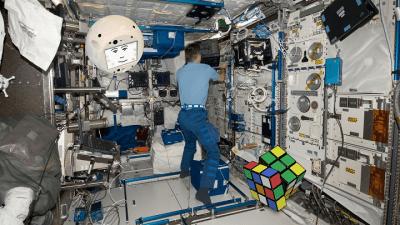 CIMON Übung Würfel Rubik Cubik