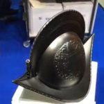 Helm für Schweizer Garde aus 3D-Drucker