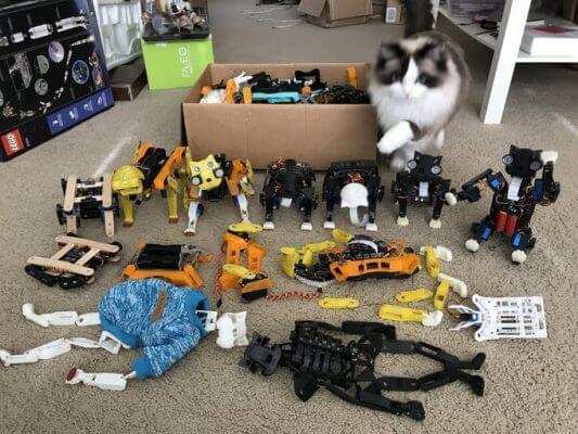 Die sechs Vorgängerversionen der Open Cat