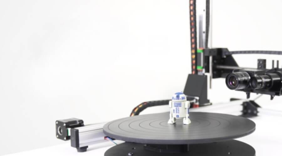 """D3D-s stellt """"weltweit präzisesten"""" Desktop-3D-Scanner auf Kickstarter vor"""