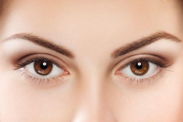 Nahaufnahme von Augen